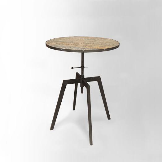 Perched Adjustable Pub Table
