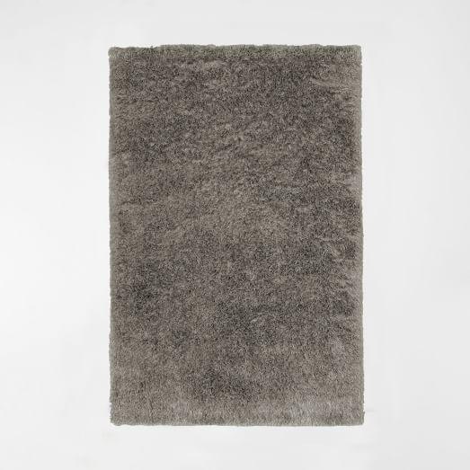 Macri Shag Rug, Silver, 3'x5'