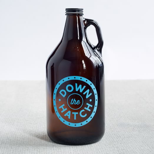 Printed Growler, Down The Hatch