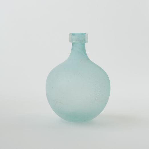 Waterscape Vase, Round Bud, Ocean Green