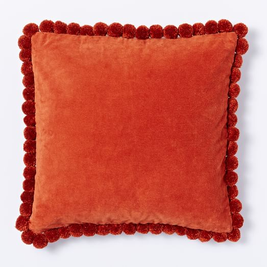 Jay St Pompom Pillow Cover, 18