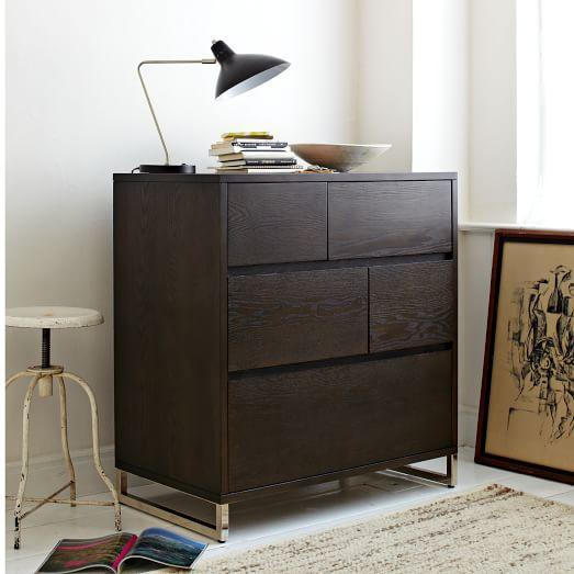 . Hudson 5 Drawer Dresser   west elm
