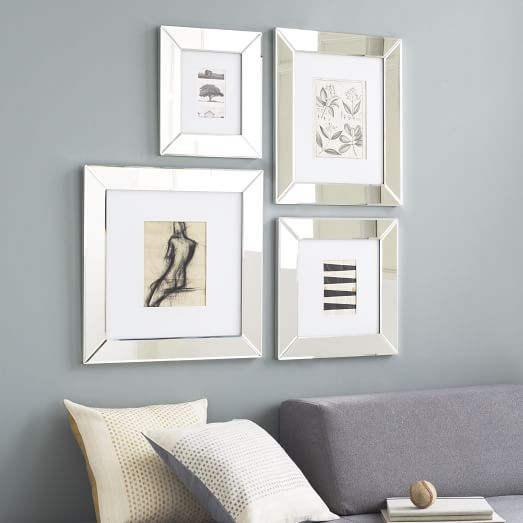 mirror loft frames west elm