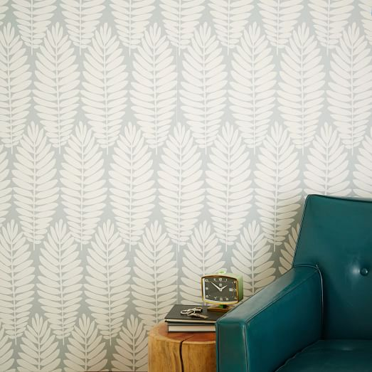 gallery of chasing paper removable wallpaper panels u fern gray west elm with sherwin williams removable wallpaper. & Sherwin Williams Removable Wallpaper. Removable Wallpaper Guide ...