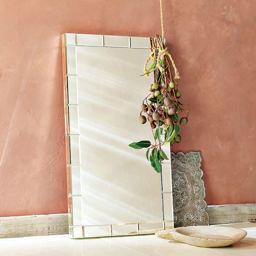 mirror framed wall mirror west elm