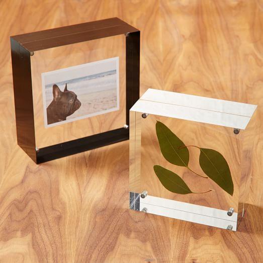 acrylic frames west elm