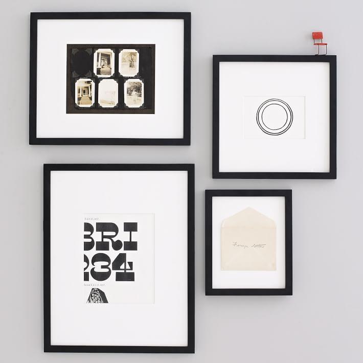 gallery frames black west elm