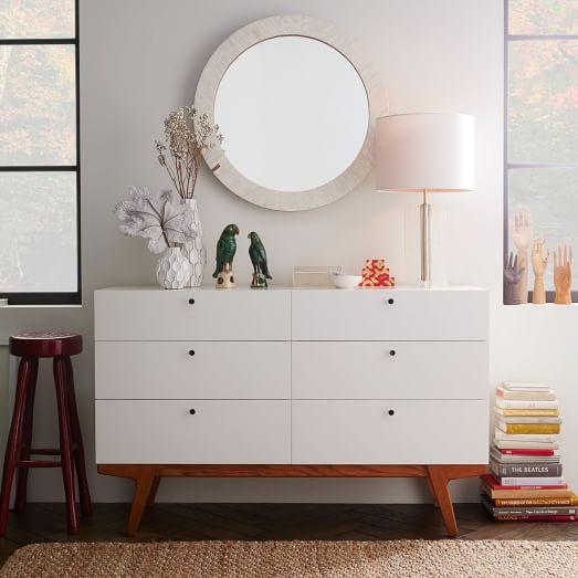 Modern 6 Drawer Dresser West Elm