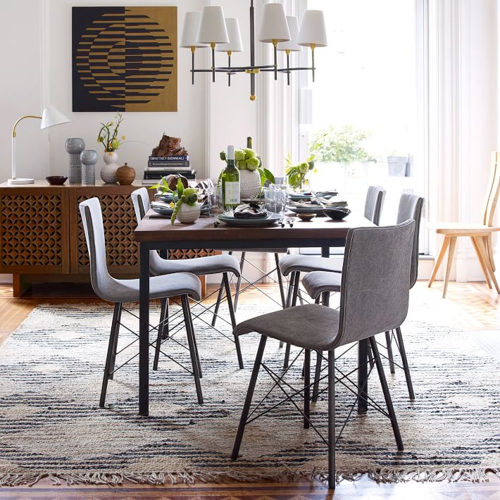 industrial kitchen table – home design and decorating