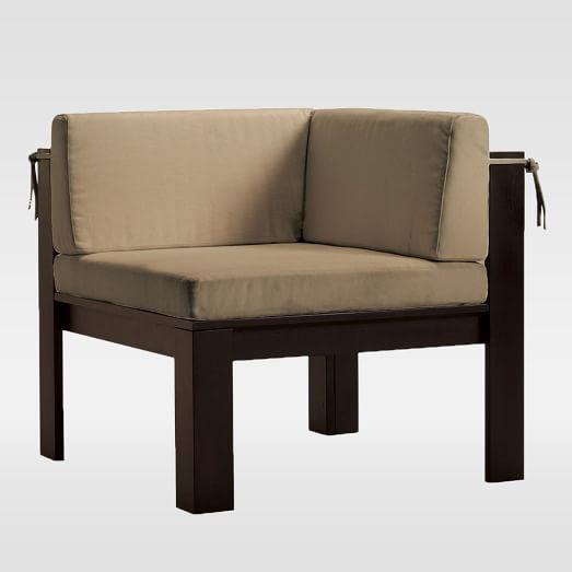 . Wood Slat Corner Chair   west elm