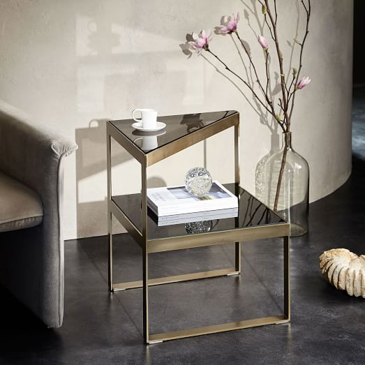 Staggered Plane Side Table West Elm