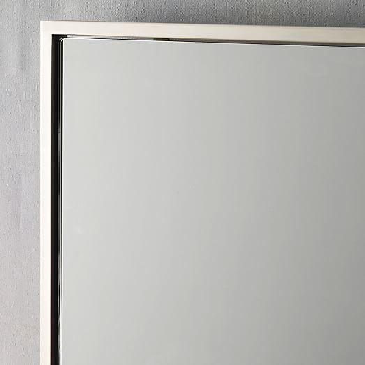Metal Framed Landscape Mirror West Elm