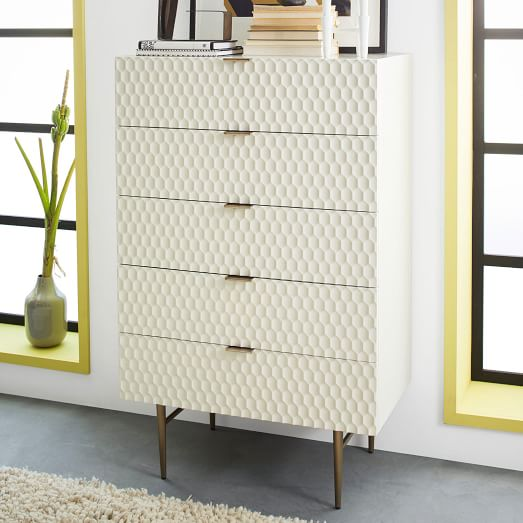 . Audrey 5 Drawer Dresser   west elm