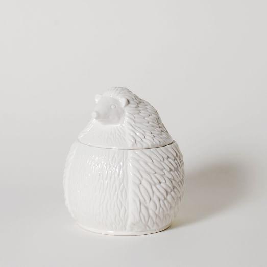 Ceramic Canister, Hedgehog