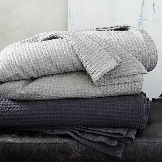 Stitched Blanket, Asphalt