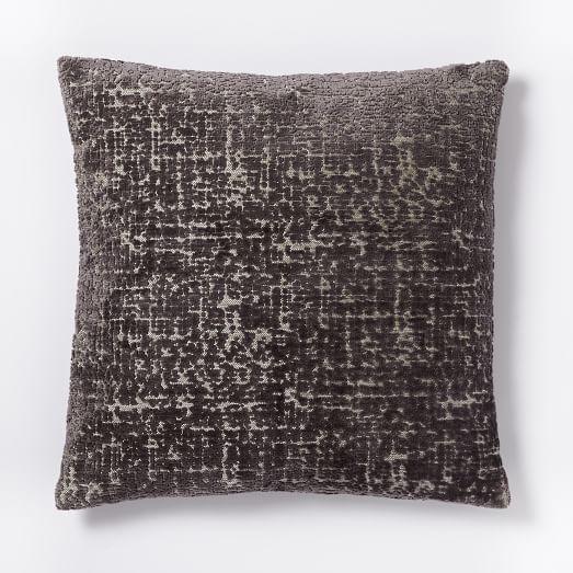 Jacquard Velvet Allover Textured Pillow Cover, 20
