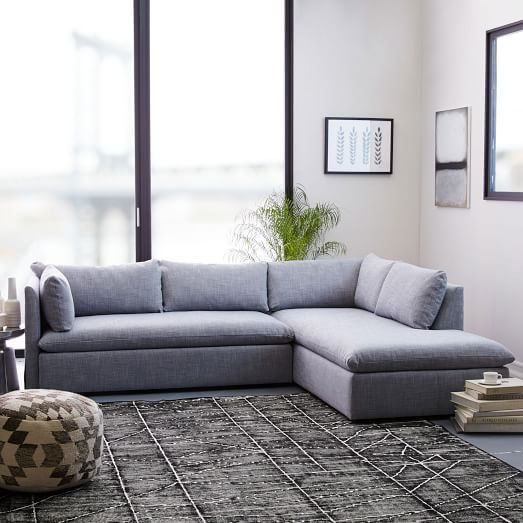 shelter 2 piece terminal chaise sectional h1701
