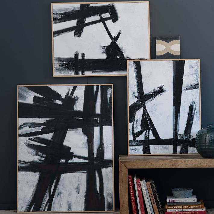 Image result for abstract black and white brush stroke art