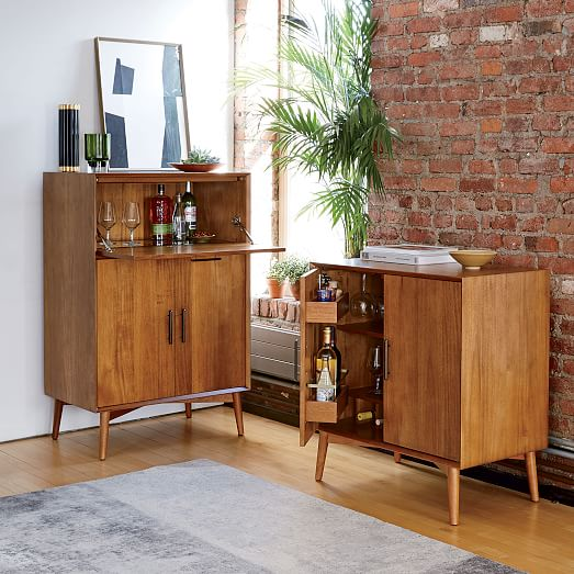 modern bar cabinet mid century bar cabinet small west elm 23455
