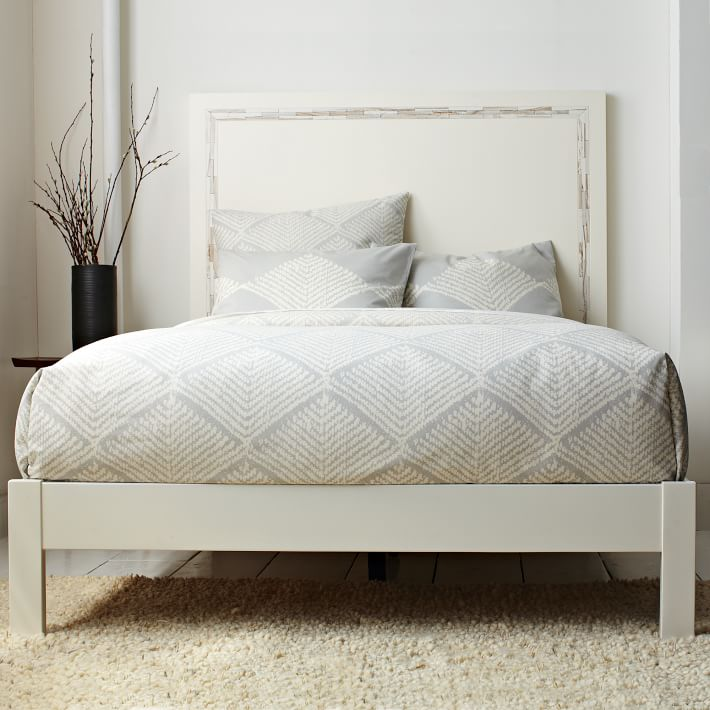 Hot Wooden Double Bed Frame Simple